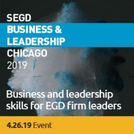 2019 SEGD Business & Leadership Banner