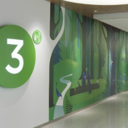 Seattle Children's Hospital Art and Wayfinding Program