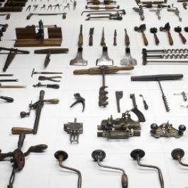 South Street Seaport Museum Tool Exhibit
