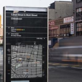 WalkNYC Pedestrian Wayfinding