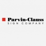 Parvin-Clauss Sign Company Logo