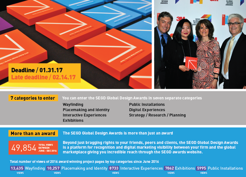 SEGD Global Design Awards banner