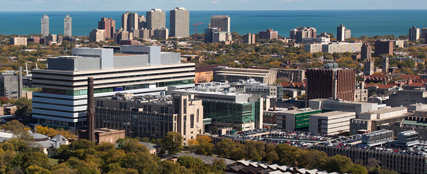 University of Chicago Medicine Overview shot