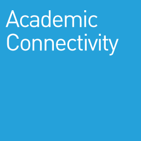 Graphic Banner for Academic Connectivity