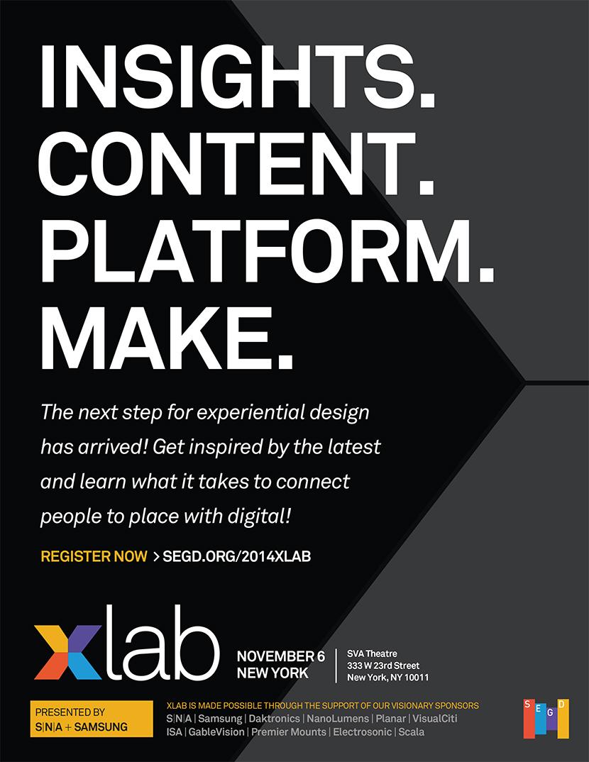 2014 Xlab Poster